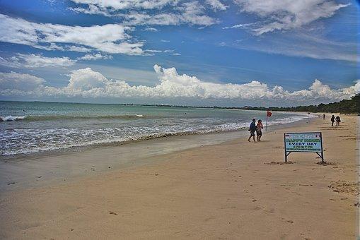 Jimbaran Bay, Bali, Indonesia, Beach, Frolick, Seascape