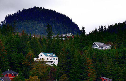 Alaska, Architecture, City, Ketchikan, Landscape