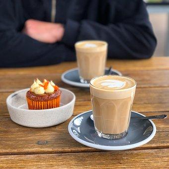 Coffee, Latte, Cafe, Espresso, Caffeine, Beverage