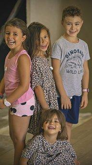 Children, Laughter, Games, Friendship, Joy, Smiling