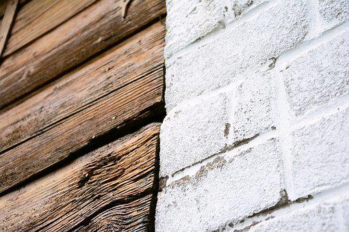 Wall, Wood, Stone, Materialmix, Texture, Pattern