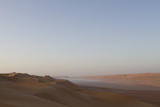 Desert, Dis, Morning, Sunrise, Outdoor, Misty, Sand
