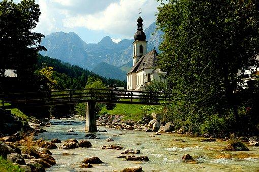 Ramsau, Bavaria, Landscape, Berchtesgaden, Summer