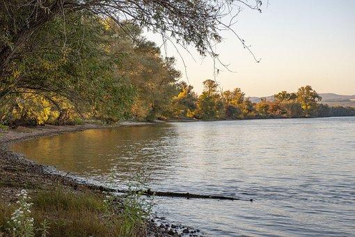 Danube, River, Autumn, Riverside, Nature, Landscape
