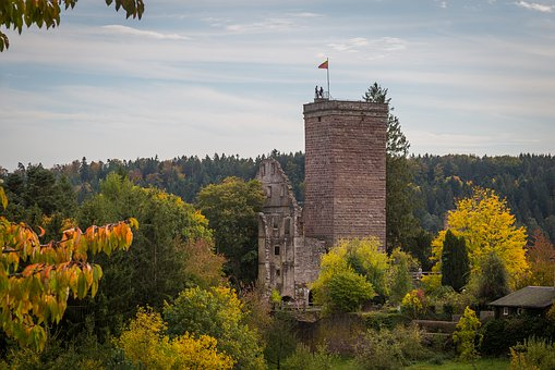 Zavelstein, Teinach, Castle, Ruin, Burgruine