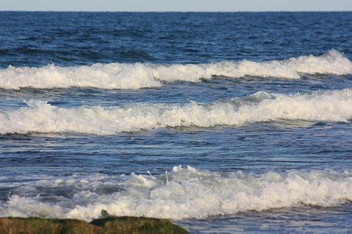 Wave, Sea, Water, Ocean, Surf, Nature