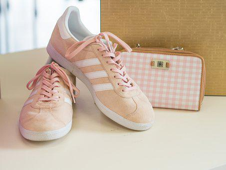 Sneakers, Purse, Fashion, Pink, Handbag, Shopping