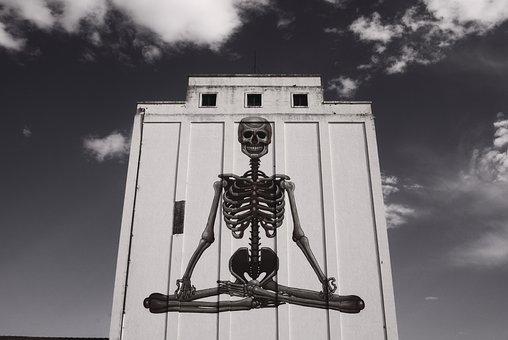 Halloween, Skeleton, Death, Demon, Corpse, Scary