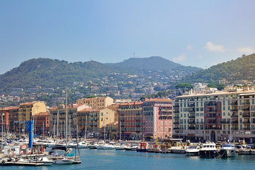 Nice, France, South Of France, Building, Mediterranean