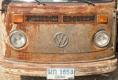 Vehicle, Rust, Volkswagen, Thailand, Past, Nostalgia
