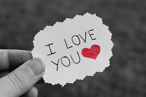 Paper, List, Love, Heart, Saying, Write
