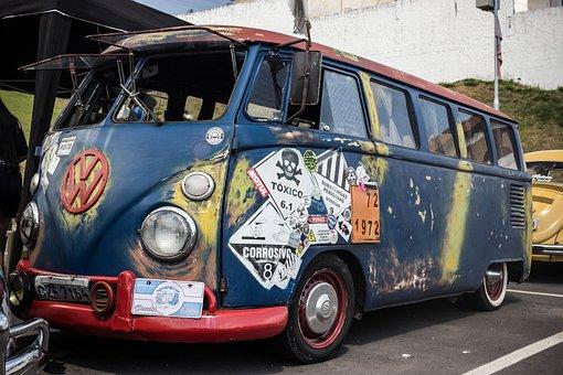 Kombi, Beetle, Vw, Old Car, Car, Old, Vehicle