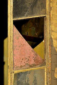 Window, Broken, Glass, Old, Ruin, Building, Abandoned