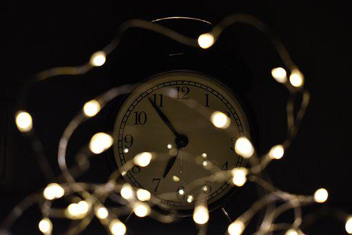 Clock, Autumn, Time, Evening, Light, Stress, Wintertime