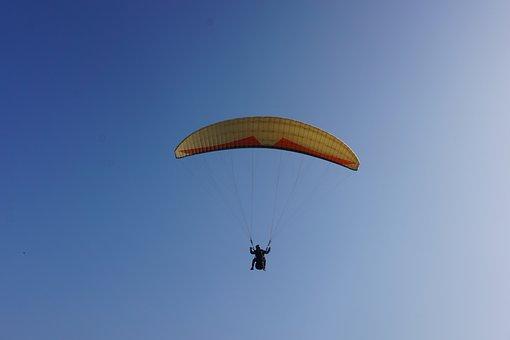 Paragliding, Sky, Fly, Paraglider, Adrenaline, Freedom