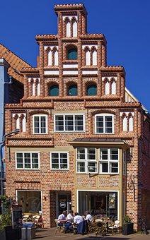 Germany, Lüneburg, Historic Center, Architecture