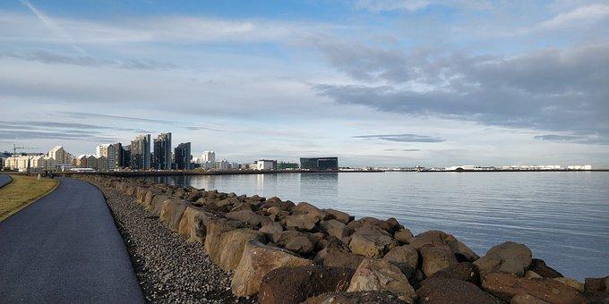 Iceland, Island, Sea, Landscape, Coast, Reykjavik