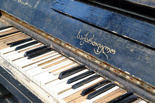 Piano, Old, Music, Instrument, Vintage, Notes, Musical