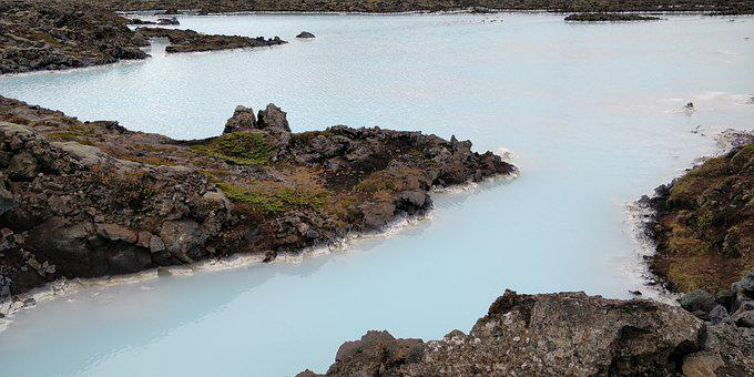 Iceland, Island, Blue Lagoon, Landscape
