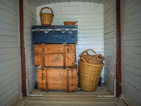 Baggage, Luggage, Suitcase, Basket, Travel, Bag