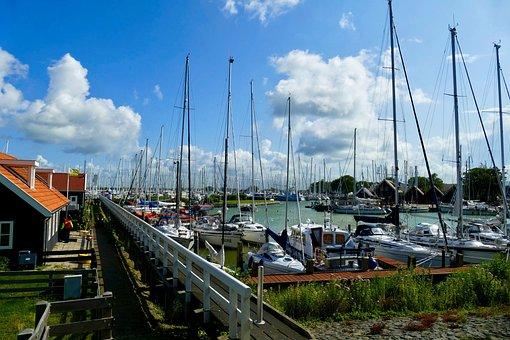 Port, Boats, Ships, Sailing Ships, Mast, Masts