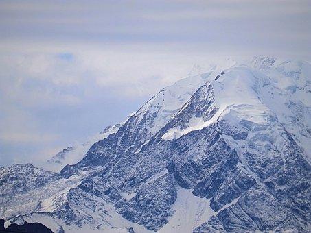 Mountain, Top, Climbing, Bolivia, Illimani, La Paz