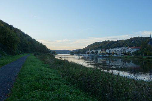 River, Nature, Landscape, Water, Creek, Peaceful, Dusk
