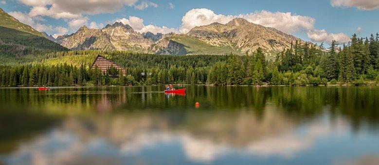 Vysoké Tatry, Tatry, Pleso, Strba Tarn, Nature