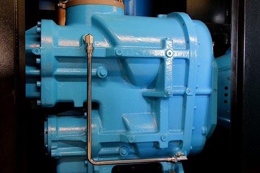 Screw Compressor, Machine, Air End, Air Supply