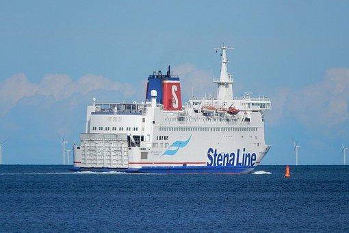 Ship, Baltic Sea, Water, Sea, Summer, Travel
