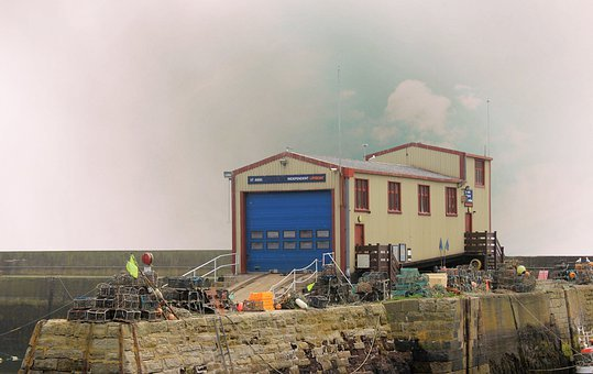 Lifeboat Station, St Abbs, Shed, Boat House, Help