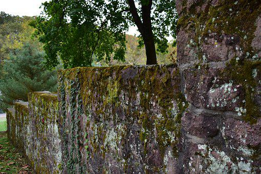 Outside, Outdoors, Old, Wall, Stone
