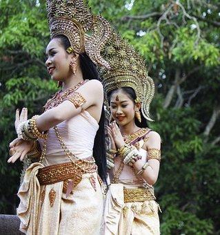 Tradition, Thai, Dancer, Thailand, Traditional, Culture