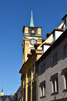 Tower, Town Hall, Architecture, Building, City, Towers