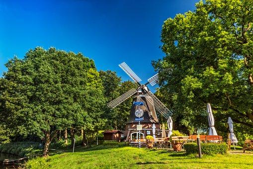 Windmill, Meppen, Hölting Mill