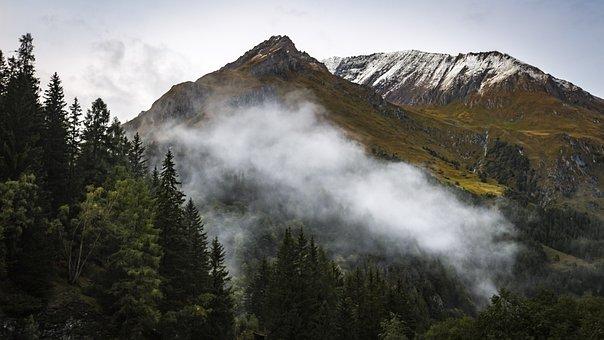 Alpine, Mountains, Landscape, Nature, Mountain, Summit