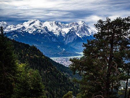 Bavaria, View, Alpine, Landscape, Mountains, Germany