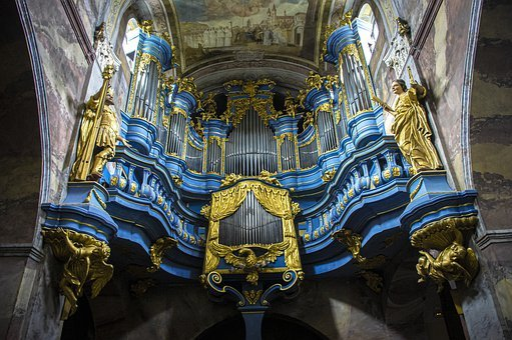 Church, Organ, Music, Architecture, Religion, History