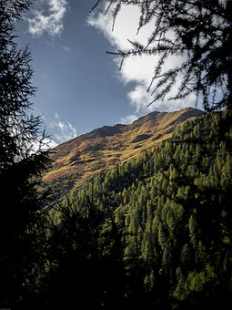 Alpine, Autumn, Landscape, Mountains, Nature, Panorama