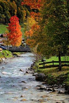 Water, Bach, Ache, Ramsauer Ache, Ramsau, Berchtesgaden