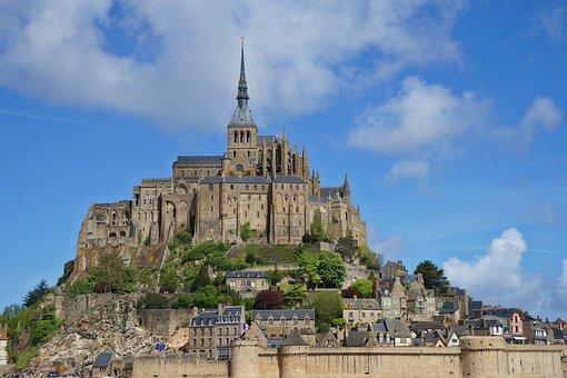 Mont Saint Michel, Architecture, Church, Normandy