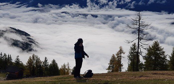 Mountains, Landscape, Nature, Forest, Clouds