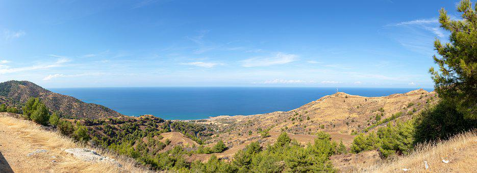 Panorama, Cyprus, Landscape, Nature, Scenery, Travel