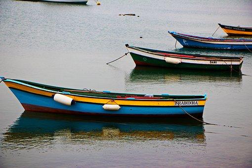 Boats, Sea, Fishing