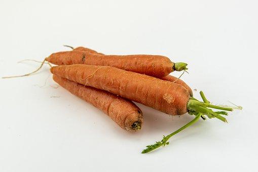 Carrots, Vegetables, Red, Healthy, Vegetable, Fresh