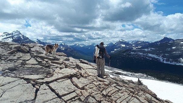 Hiking, Alpine, Mountains, Landscape, Nature, Hike