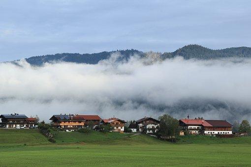 Landscape, Houses, Countryside, Community, Alt Blindau