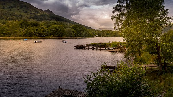 Loch Lomond, Scotland, Lake, Water, Landscape, Scenic