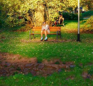 Landscape, Autumn, Nature, Park, Trees, Grass, Leaves