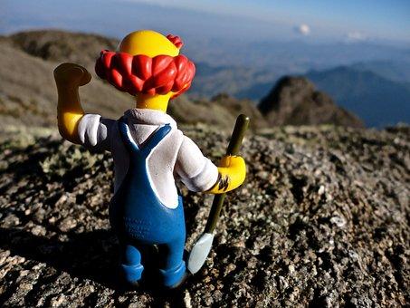 Mountain, Toy, Creative, Mountains, Nature, Travel
